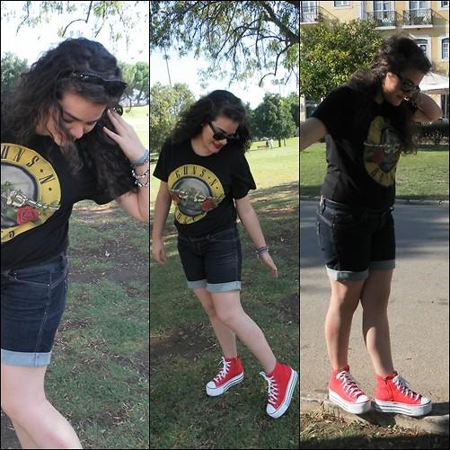 all star vermelho na moda casual