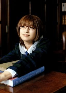 exemplo óculos de grau em rosto redondo oriental