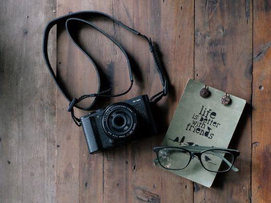 óculos de grau fotografia still