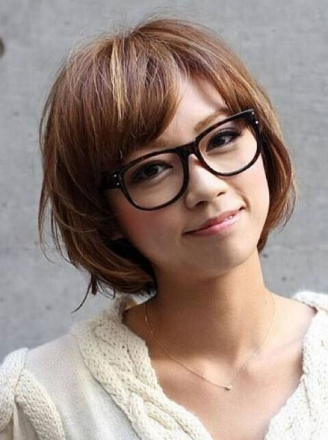 8d7eb4e71c31a exemplo óculos de grau em rosto redondo oriental