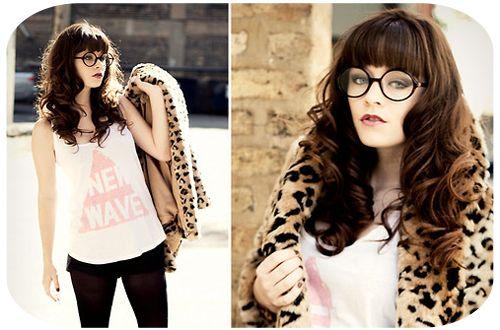 óculos geek redondo de cor preta