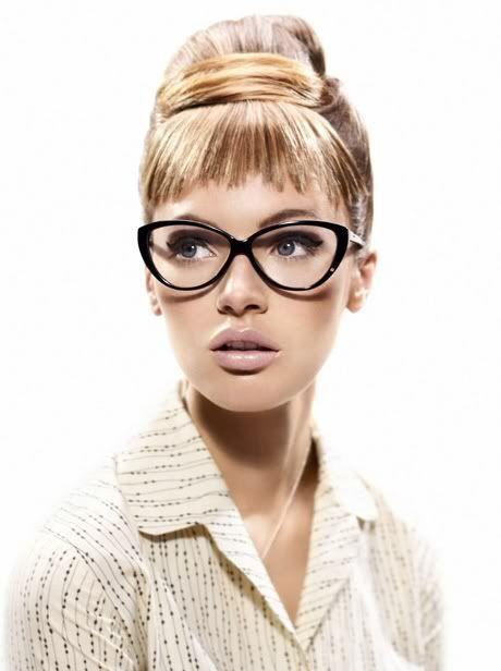 Óculos geek estilo gatinho