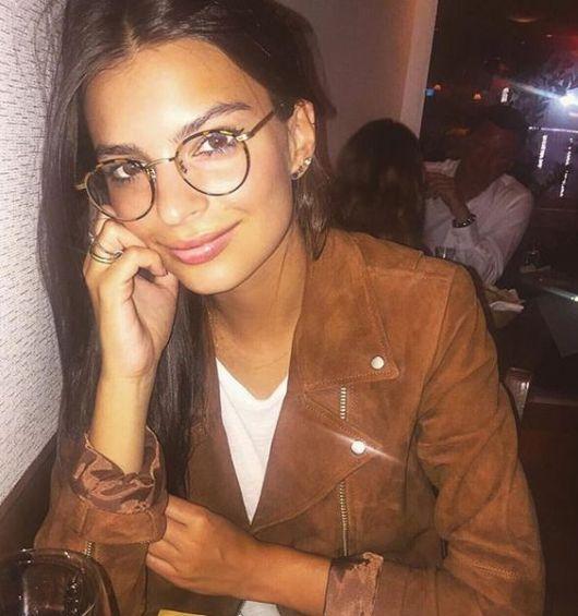 óculos geek redondo com aro fino
