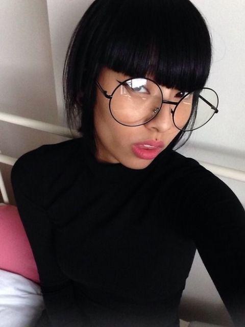 Óculos geek redondos