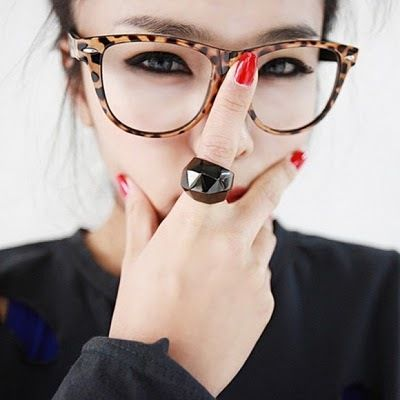 óculos geek de oncinha