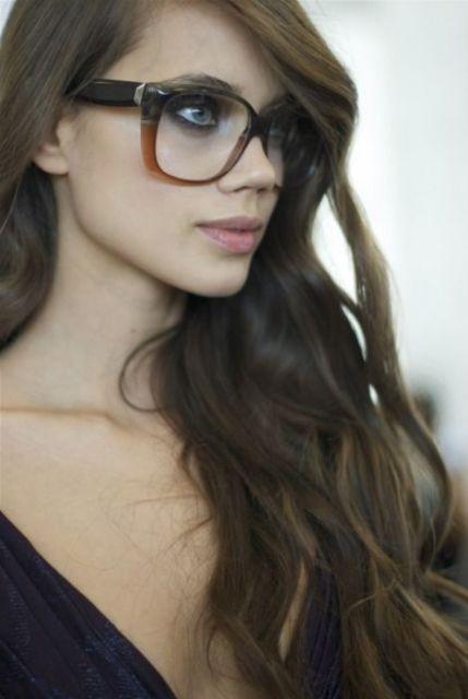 óculos geek com aro super grosso