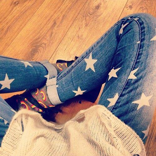 como customizar calça jeans exemplo transformar em shorts stencil estrela