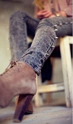 como customizar calça jeans exemplo transformar em shorts spike