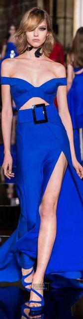 Vestido de formatura azul super sexy