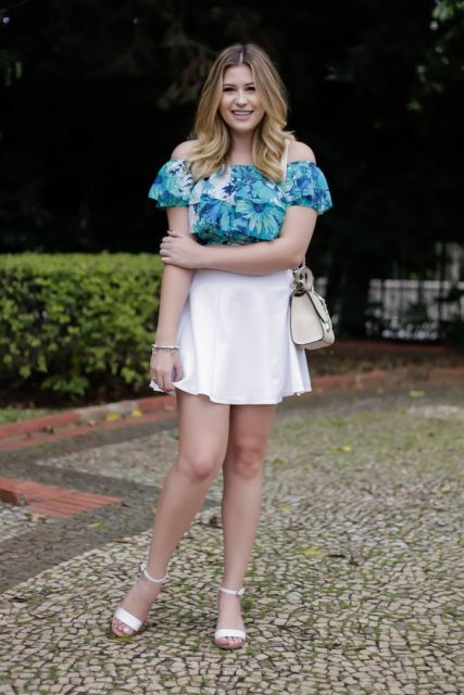 look plus size com shorts