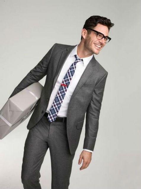 caimento da gravata slim