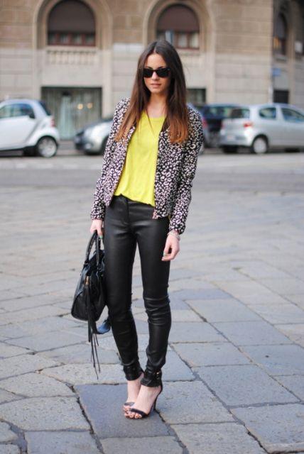 casaco floral na moda inverno