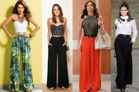 Pantalonas de diversos estilos
