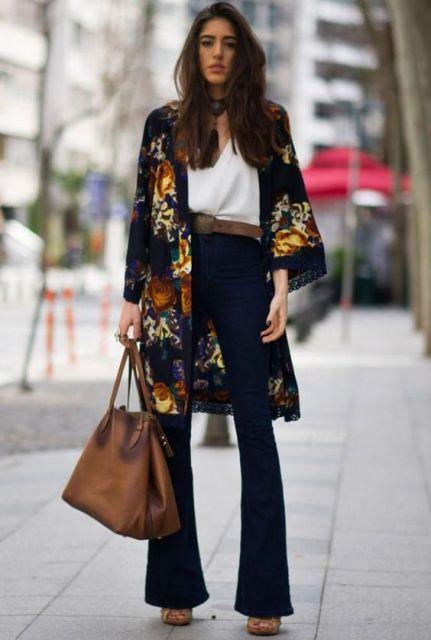 calça com kimono