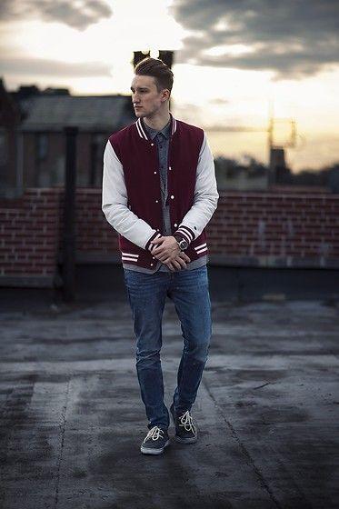 dicas para usar jaqueta college simples