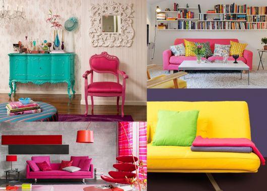 decoração color block exemplos