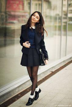dicas de looks para escola com uniforme simples