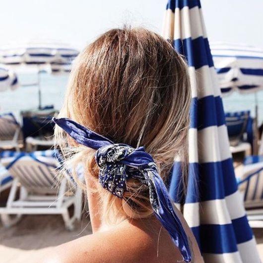 como usar bandanas - na praia