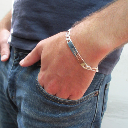 como usar pulseira de prata