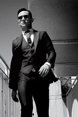 como usar terno e gravata slim