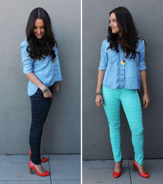 como customizar calça jeans exemplo transformar em shorts stencil