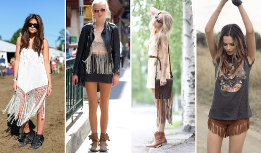 exemplos de looks estilo folk
