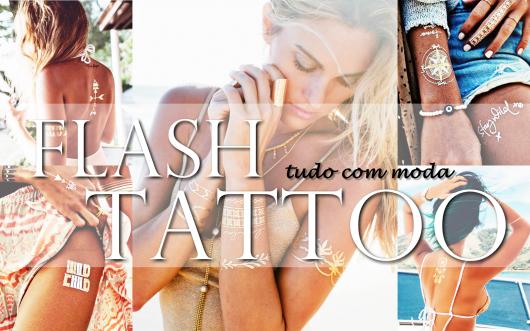 FLASH TATTOO: Conheça a Tatuagem Dourada!