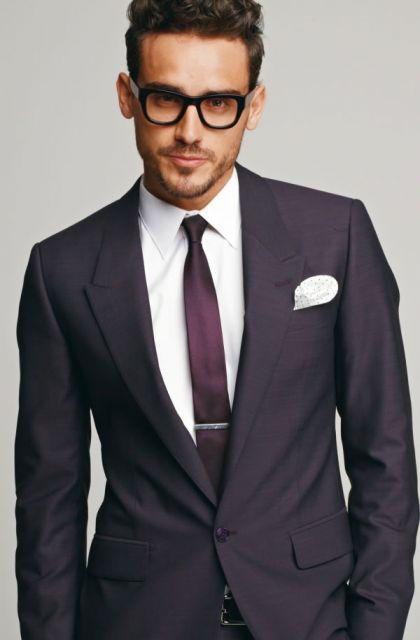 gravata slim com prendedor