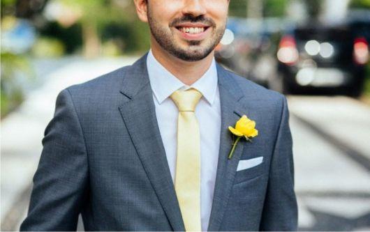 gravata slim lapela