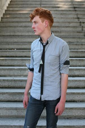 gravata slim no verão