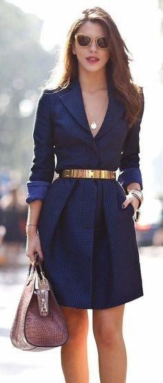 ideias para combinar vestidos e ternos em look trabalho