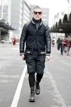 usar jaqueta college masculina com bermuda