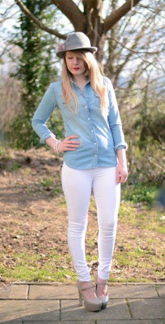 look jeans com jeans para o dia