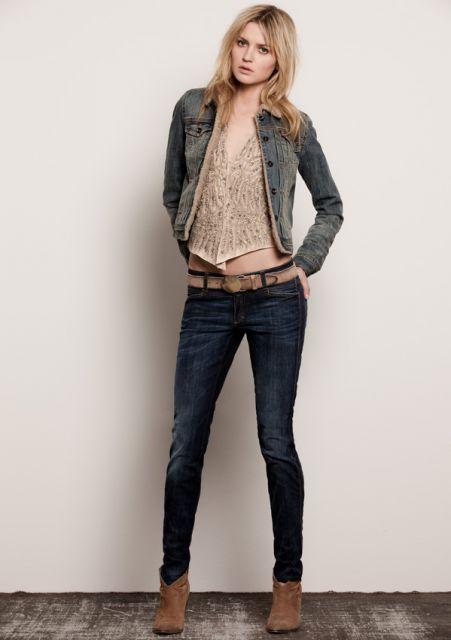 roupas para usar no trabalho com jeans