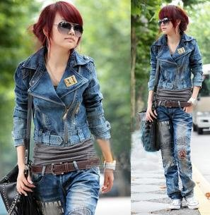 jeans com jeans em look casual inverno