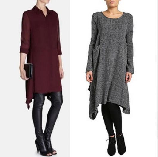 vestir legging em look inverno