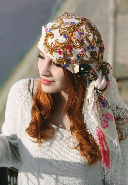 exemplo de como usar lenço na cabeça pirata