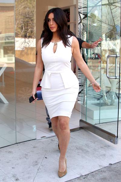 look branco vestido sensual