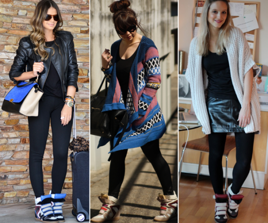como combinar legging e sneakers