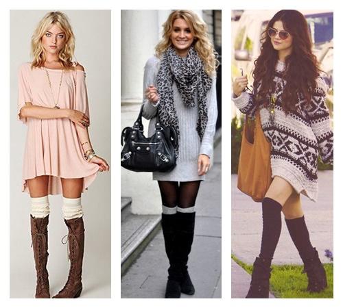 look-inverno-com-polaina-e-vestido