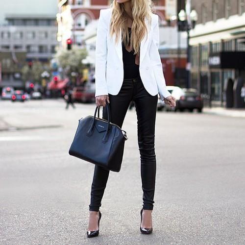 blazer feminino branco
