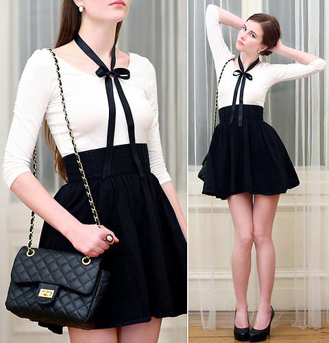 estilo retro preto e branco