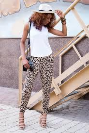 dicas para usar calça de onça e branco