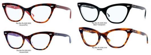 4 modelos de óculos gatinho