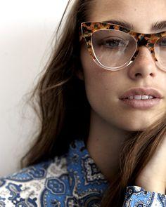 Óculos mesclado gatinho
