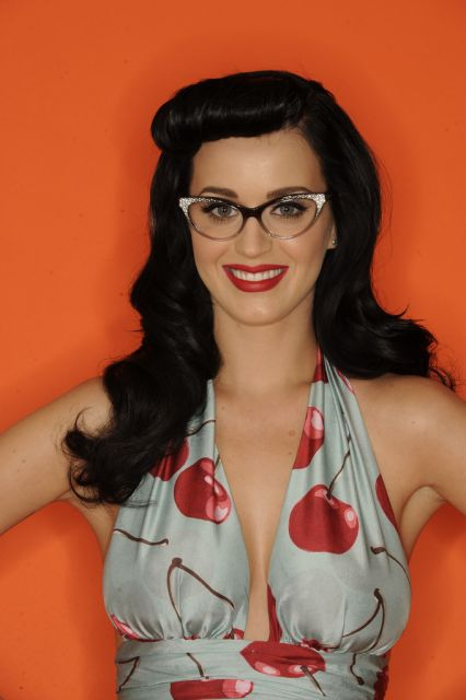 Katy Perry e seu óculos fashion