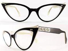 Óculos gatinho preto puxadinho