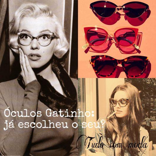 Oculos Gatinho: ja escolheu o seu?