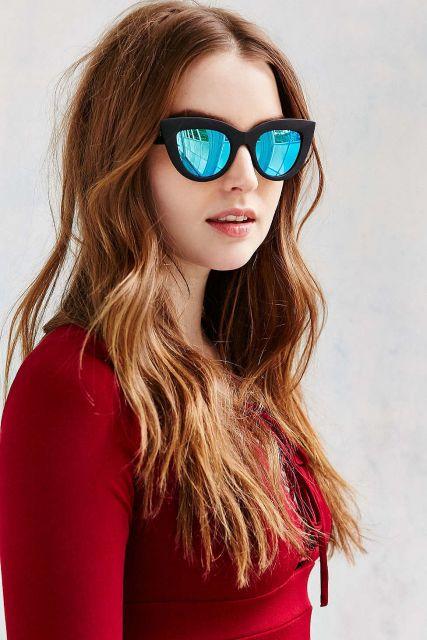 mais um modelo de óculos espelhado