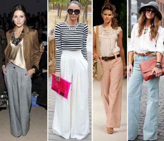 Modelos de pantalonas patra look